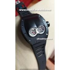 Richard Mille RM 053 Tourbillion Polo Carbonized Black Watch