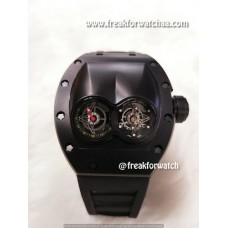 Richard Mille RM 053 Tourbillion Polo Carbonized Black ETA Original Machine Watch