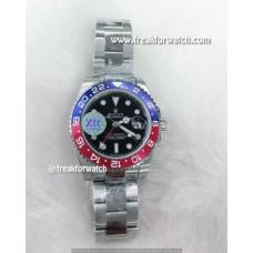 Rolex GMT-Master II Pepsi Red-Blue Bezel Oyster Bracelet Watch