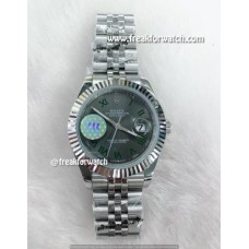 Rolex Datejust Automatic Roman Numerals Grey Dial Watch