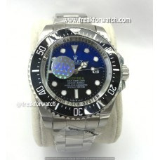 Rolex Deepsea Dweller James Cameron Black Blue Dial Automatic Watch