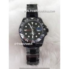 Rolex GMT-Master II Full Black Dial Watch