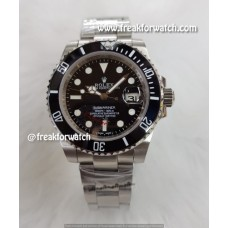 Rolex Date Submariner Automatic Black Dial Oyster Men's Watch