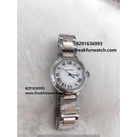 Cartier Ballon Bleu de Dual Tone Ladies Watch