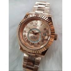 Rolex Sky Dweller Automatic Full Rose Gold Men's Watch