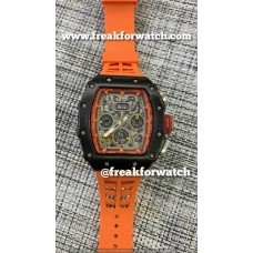 Richard Mille RM-011 Orange Automatic flyback chronograph Watches