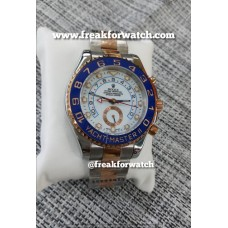 Rolex Date Yacht Master - II Dual Tone White Dial Automatic Men's Watch
