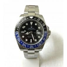 Rolex GMT Master II Batman Blue Black Ceramic Bezel Steel Automatic Watch