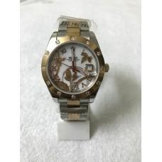 Rolex Datejust Automatic Dual Tone White Luxury Watch