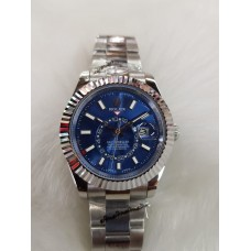 Rolex Sky Dweller Automatic Stainless Steel Blue Dial Men's Watch