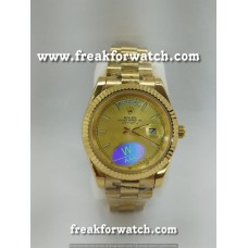 Rolex Day Date Full Gold Automatic Men's Watch