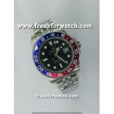 Rolex GMT-Master II Pepsi Luxurious President Bracelet Watch