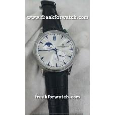 Vacheron Constantin Patrimony Day Date Platinum White Dial Men's Watch