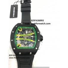 Richard Mille RM61-01SL Yohan Blake Yellow Dial Men's Watch