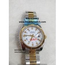 Rolex Datejust Diamond Marks First Copy Men's Watch