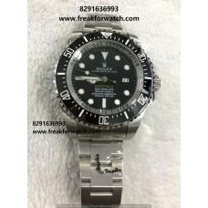 Rolex Deepsea Black Dial Men's Watch