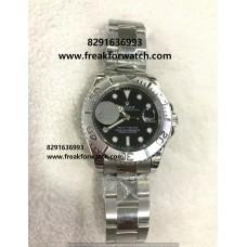 Rolex Date Yacht-Master Rhodium Black Dial Watch