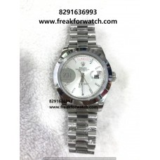 Rolex Day-Date Automatic Oyster White Dial Men's Watch