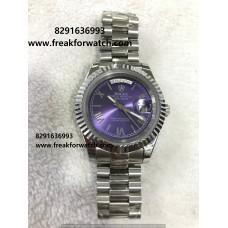 Rolex Day Date Roman Numerals First Copy Men's Watch