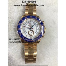 Rolex Date Yatch Master Rose Gold First Copy Watch