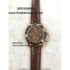 Rolex Daytona Rose Gold First Copy Watch