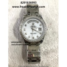 Rolex Day Date Mother Of Pearl Automatic Watch