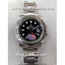 Rolex Explorer 2 GMT Black Dial Automatic Men's Watch